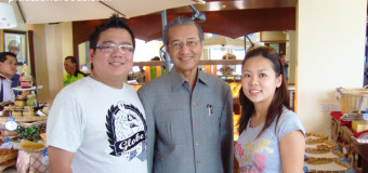 I Met Tun Dr. Mahathir Mohamad @ The Loaf, Langkawi