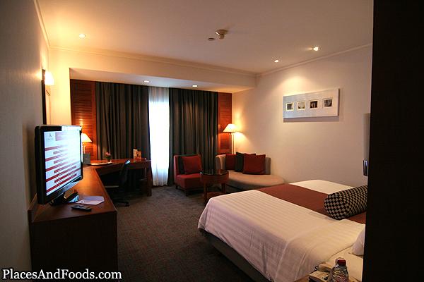 Amari Watergate Hotel Room View Bangkok