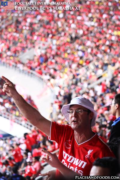Liverpool FC vs Malaysia XI crowd