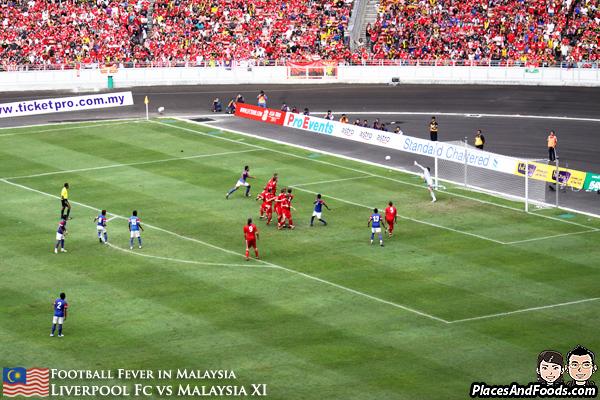 Safiq Rahim Liverpool free kick goal