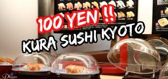 100 Yen Kura Sushi 無添 くら寿司金閣寺店 Review