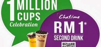 WeChatime 1 Million Cups Celebration