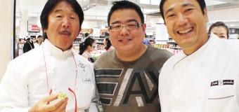 Isetan Japan Sweets Fair with Iron Chef Sakai and Yoroizuka