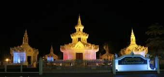The City Pillar Shrine Nakhon Si Thammarat Night Pictures
