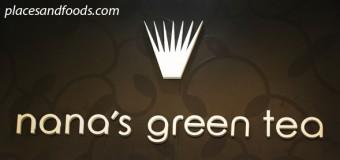 Nana's Green Tea Café is in Malaysia!