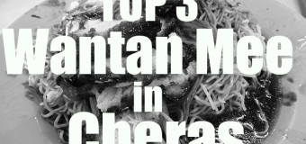 Top Three Wantan Mee in Cheras