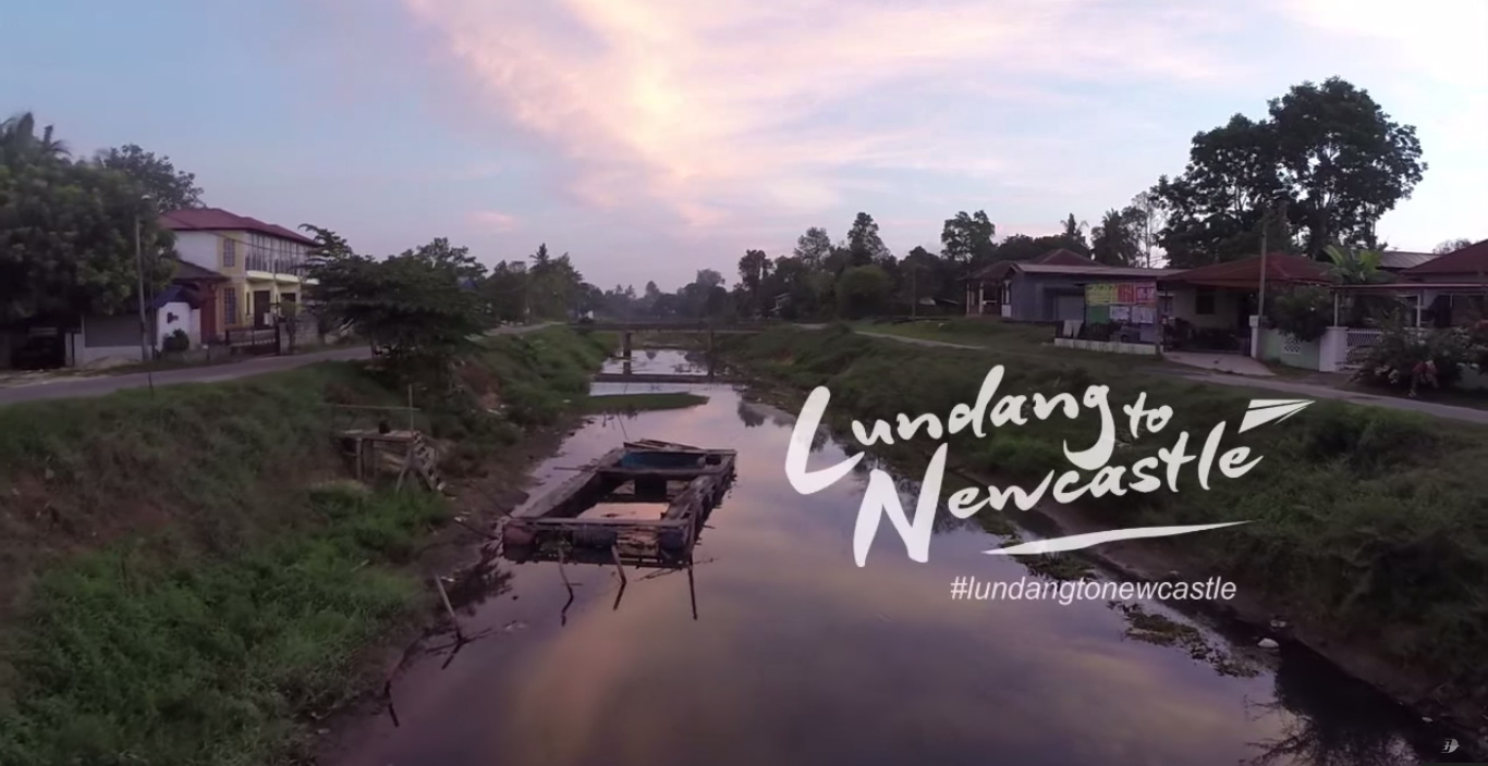 Lundang To Newcastle Preview by Malaysia Airlines