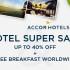 Accor Super Sale 400