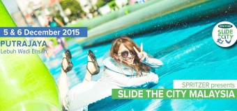 Slide The City Malaysia Information, Location and Ticket Details