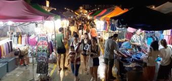 Talad Rod Fai Srinakarin Train Night Market Bangkok