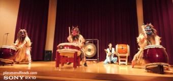 Namahage Drum Performance in Oga Japan
