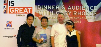 Dinner and Audience with Gary Rhodes in Hilton Kuala Lumpur