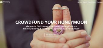 LoveSays.com.my Honeymoon Crowd Funding