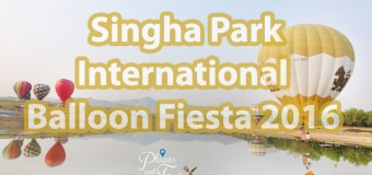 Singha Park International Balloon Fiesta 2016 Amazing Experience