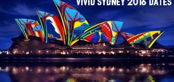 Vivid Sydney 2016 Dates