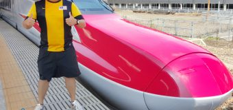 Riding on fastest Shinkansen in Japan E6 Series on Komachi Service