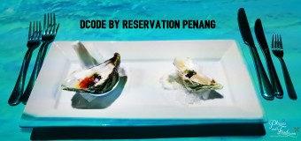 DCODE by Reservation featuring Chef Darren Chin