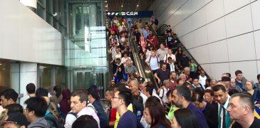 KLIA's Aerotrain Breaks Down Again