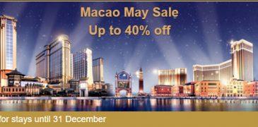 Macau Hotels May 2016 Sale! Time to Visit Macau Now!