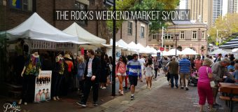 The Rocks Weekend Market in Sydney