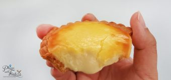 Lavender Hanjuku Cheese Tart Review