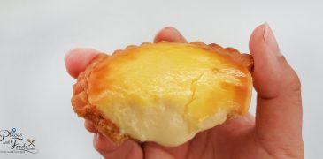 lavender cheese tart
