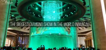 The Biggest Diamond Show in the World in Macau