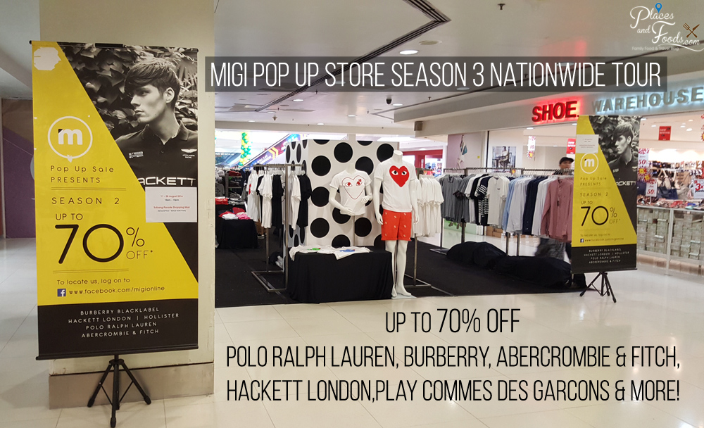 Migi Warehouse Pop Up Store Season 3 Nationwide Tour