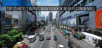 Top 20 Hotels in Pratunam Bangkok near Platinum Mall