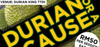 Durian Buffet For A Cause