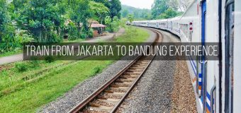 Train from Jakarta to Bandung Experience