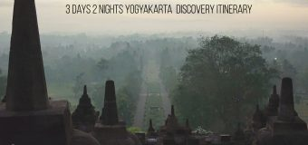 3 Days 2 Nights Yogyakarta Food & Discovery Itinerary