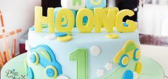 Custom Made Baby Birthday Cake in Kuala Lumpur