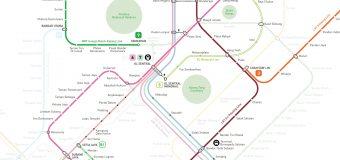 Kuala Lumpur Train KTM MRT LRT Monorail Complete Map