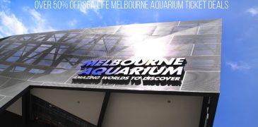 Over 50% Off SEA LIFE Melbourne Aquarium Ticket Deals