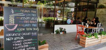 Famous Penang Food at MakeMake Café in Penang Design Village