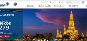 Malaysia Airlines to Bangkok for RM 279 Pre Matta Fair 2017 Deals