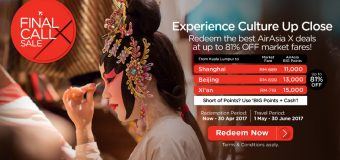 AirAsia BIG Final Call X Sale to Perth Australia