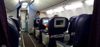 Malaysia Airlines KL to Darwin Flight Experience MH 144
