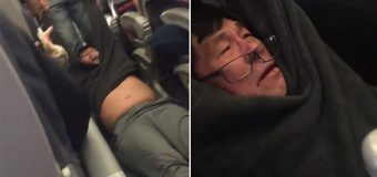 Asian doctor violently removed from United Airlines due to overbooking