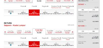 Travel to Hokkaido for RM 99 with AirAsia BIG Points