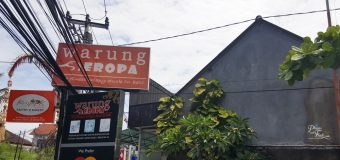 The best crispy duck in Bali Warung Eropa