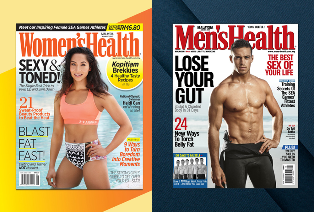 Malaysia Men's Health and Women's Health Magazines Will Be Closed Down