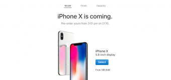 iPhone X  and iPhone 8 Official Price and Pre-Order Dates in Singapore