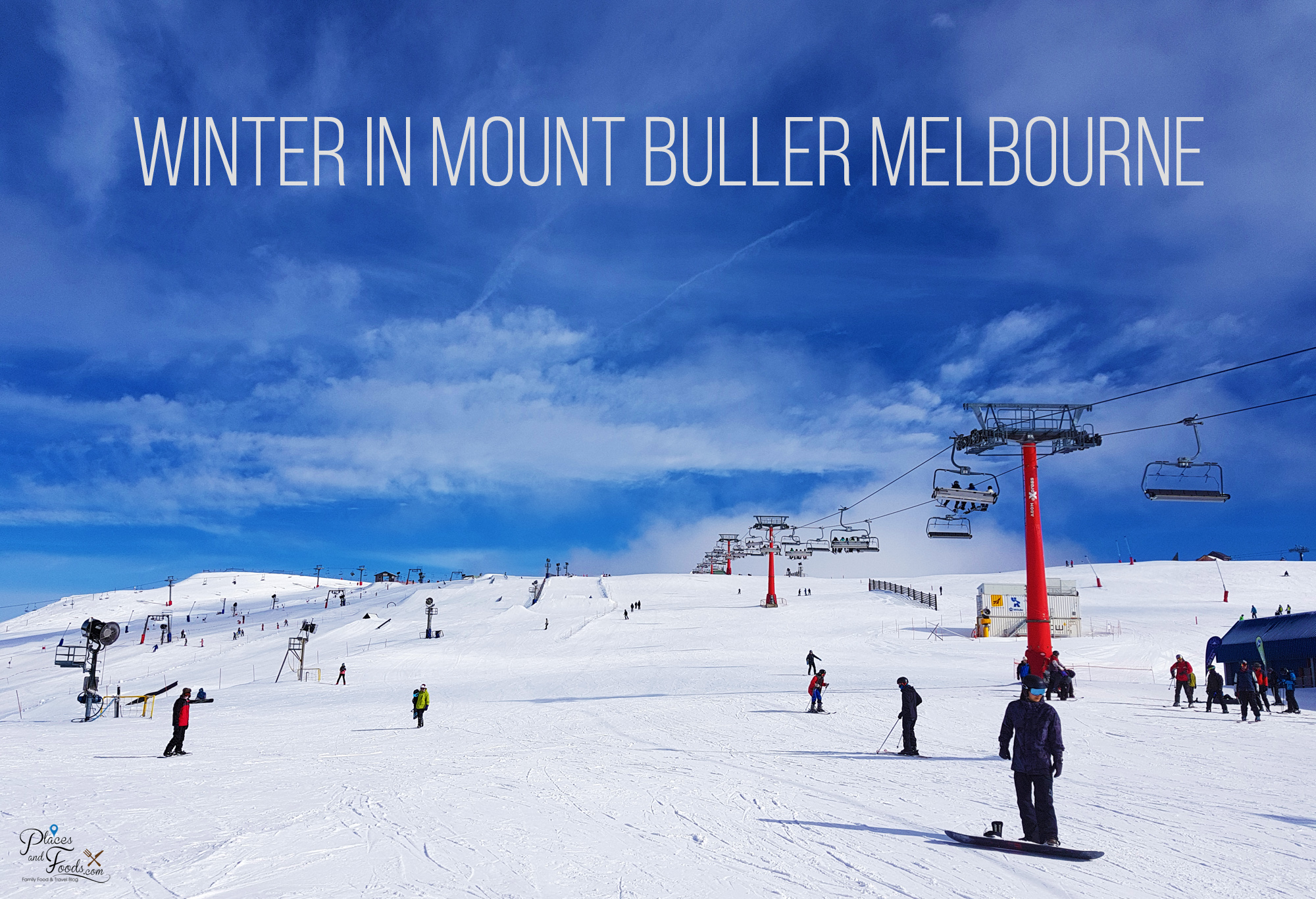 Winter in Mount Buller Melbourne Victoria Australia: Snow, Ski and Huskies Sledding Tour