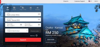 AirAsia X Promo Deals to Osaka from RM 559 for Return Ticket