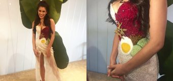 Miss Universe Malaysia will be wearing Nasi Lemak Dress in Las Vegas