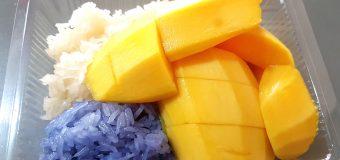 Famous Mango Sticky Rice in Hatyai