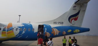 Bangkok Airways from Chiang Mai to Mae Hong Son
