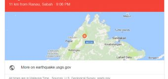 Sabah Earthquake 5.2 Magnitude 8/3/2018